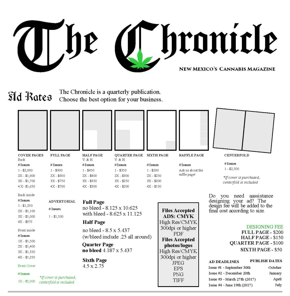 thechronicle-issue-2_adrates12-5_page_2