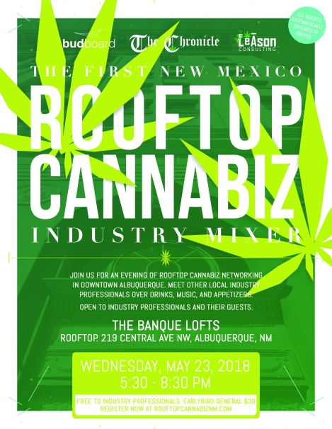 budboard x The Chronicle - Rooftop Event Page